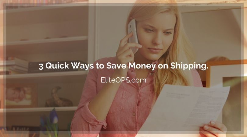 3 Quick Ways to Save Money on Shipping.
