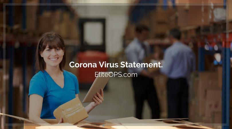 Elite OPS Corona Virus Statement