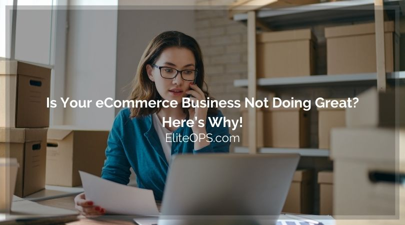 Is Your eCommerce Business Not Doing Great? Here's Why!